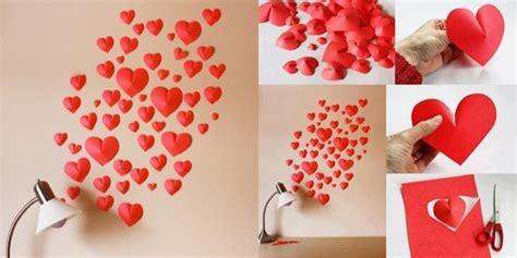 cara membuat hiasan lu dinding diy tutorial hiasan dinding bentuk hati 3d vemale com