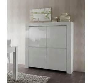 meuble moderne blanc laqu 233 4 portes quot trendy quot 1749