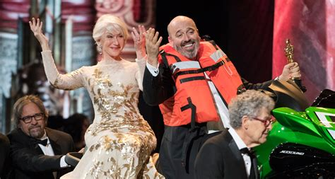 Designers Clamour For Mirren Oscar Groan by Oscars 2018 Jet Ski Winner Is Costume Designer