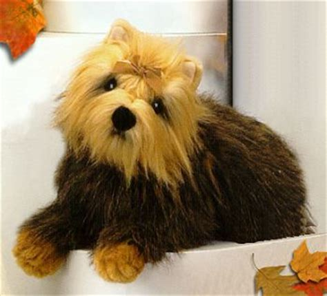 stuffed yorkie puppy plush terrier from stuffed ark