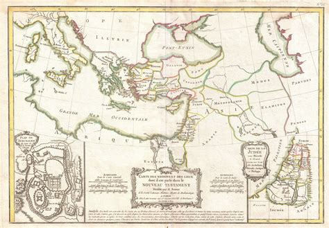 middle east map new testament file 1771 bonne map of the new testament lands w holy