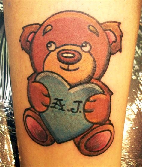 cute teddy bear tattoo designs awesome teddy design tattooshunt