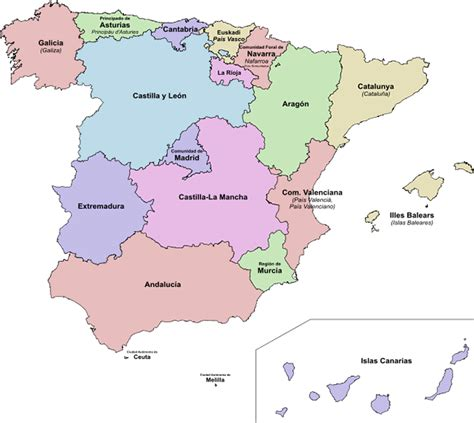map of spain provinces 191 hablas espa 241 ol y otra lengua 161 esto do you speak