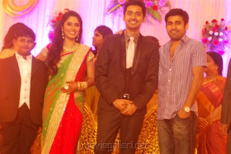 vijay television anchor priyanka marriage photos picture 481886 vijay antony at singer mk balaji priyanka