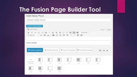 avada theme page builder customizing theme avada by theme fusion