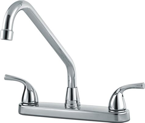 kitchen faucet canada two handle kitchen lever handle host chrome 82004lf in canada canadadiscounthardware