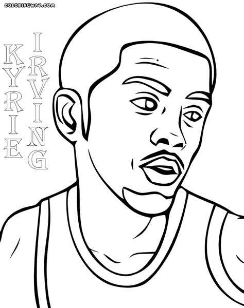 kyrie coloring pages coloring pages