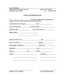 Sle Credit Card Donation Form Sle Credit Card Authorization Form 28 Images 10 Credit
