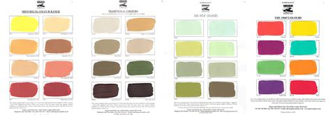 colour ranges baty historical paint consultant
