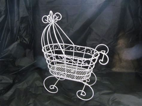 10 antique wire baby carriage buggy great for baby