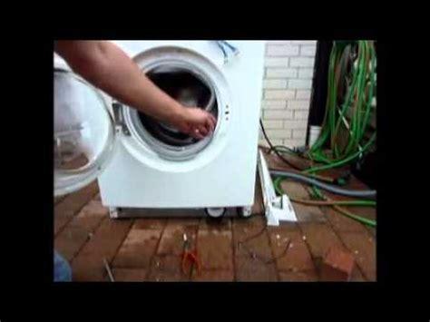 Siemens Waschmaschine Laugenpumpe Lässt Sich Nicht öffnen waschmaschine teil 4 reparatur laugenpumpe elektronik