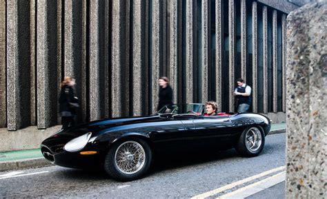 jaguar e type eagle speedster driven singer s reimagined 911 icon s ford bronco eagle