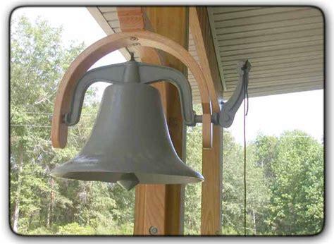 fivebraids custom woodworking farm bell hanger