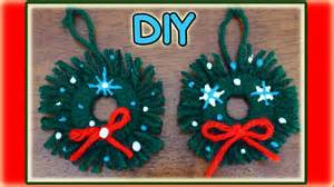 easy home made christmas decorations easy homemade christmas ornaments youtube