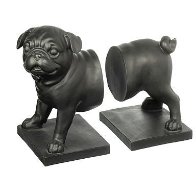 pug book ends 17 best images about pugs on faux taxidermy pug and desks