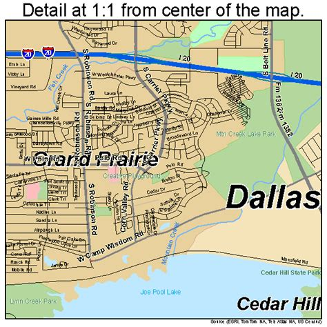 grand prairie texas map grand prairie texas map 4830464