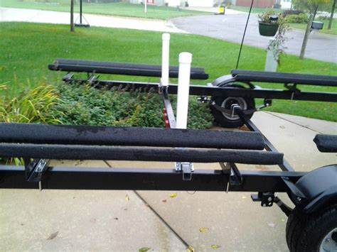 pontoon boat trailer reviews ce smith post style guide ons for pontoon boat trailers