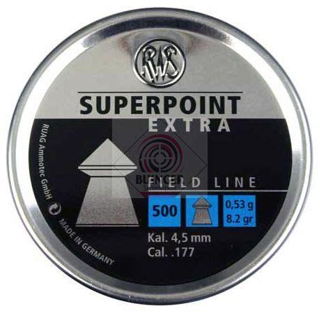 Rws Superpoint Rws Point 45mm rws superpoint 4 5 mm 500 pellets 12 90
