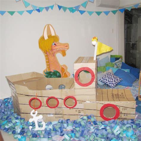 cardboard boat where the wild things are m 225 s de 25 ideas incre 237 bles sobre barcos de cajas de cart 243 n