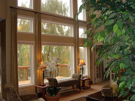 window treatments for large windows window treatments for large windows casual cottage