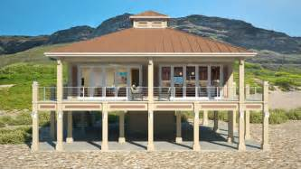 Tiny House On Slab Clearview 1600lr 1600 Sq Ft On Piers Beach House Plans
