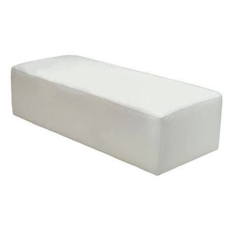 white bench ottoman contempo linens lounge furniture ottoman bench white