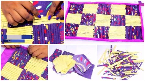 how to make rugs from clothes how to reuse your clothes to make rugs simple craft ideas