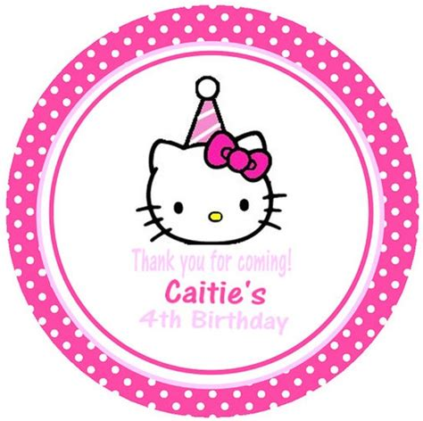 hello kitty birthday party invitation card invitations