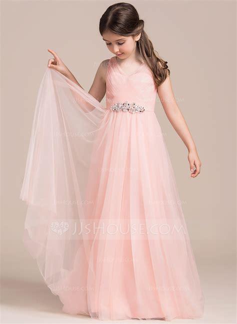 Js Pinkgirl a linie princess linie bodenlang blumenm 228 dchenkleid t 252 ll