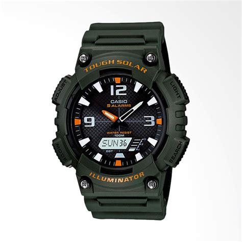 Jam Tangan Pria Casio Original Digital Analog Aq 180wd 7bvdf jual casio standard original jam tangan pria blue green