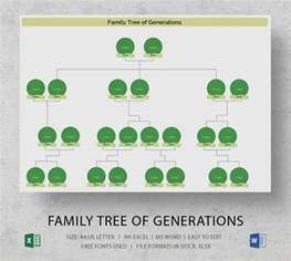 family tree with cousins template simple family tree template 25 free word excel pdf