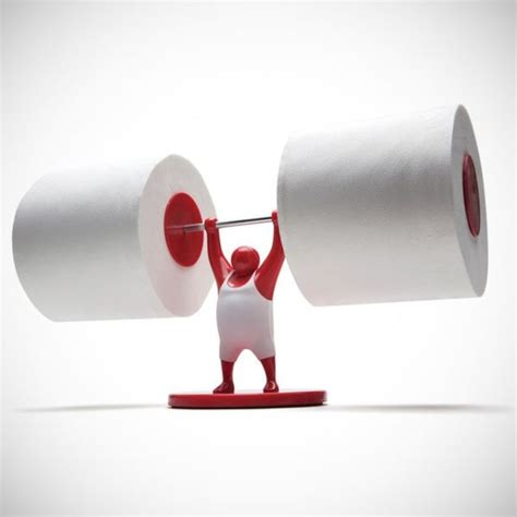 strong man toilet paper holder 19 practical and ingenious bathroom gadgets keep up with