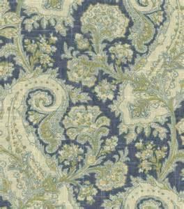home decorator fabrics home decor print fabric waverly porch paisley chambray jo ann