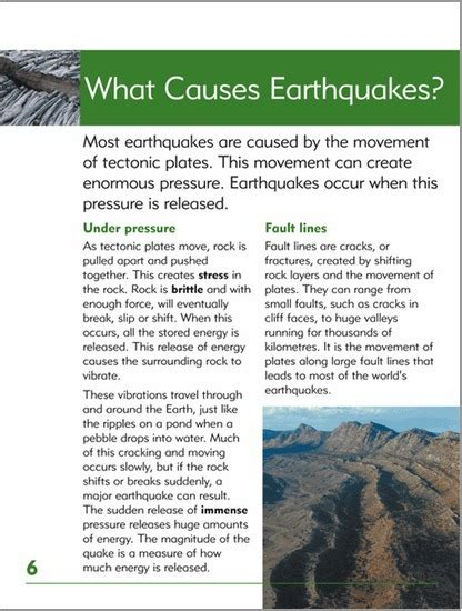 what causes earthquakes earthquake information go facts natural disasters earthquake blake education