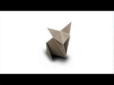 How To Fold An Origami Cat - best 25 origami cat ideas on origami origami