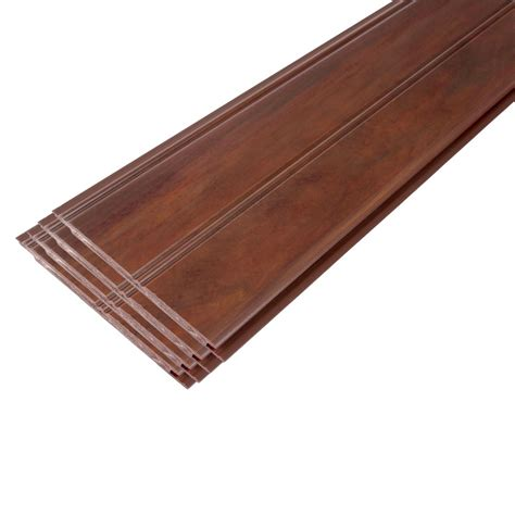 Composite Ceiling Planks 96 Quot Pvc Beadboard Planks Faux Finishd In Cafe