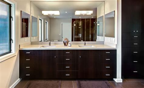Bathroom Vanity And Mirror Ideas by How To Pick A Modern Bathroom Mirror With Lights