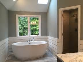 Freestanding Tub In Alcove Column Luxury Tubs Add Style To Bathroom