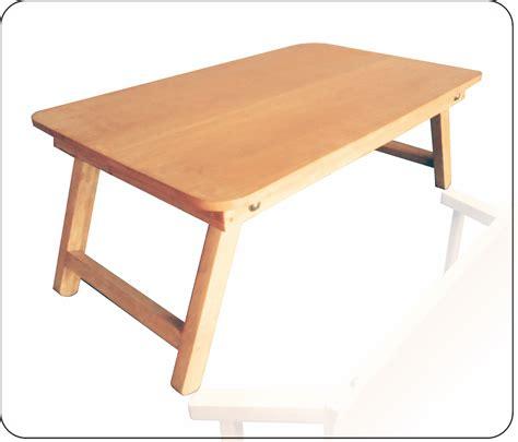 jual meja laptop lipat kayu mitra 999