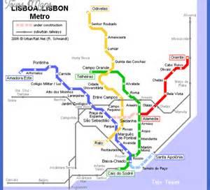 Lisbon Subway Map by Lisbon Metro Map Related Keywords Amp Suggestions Lisbon