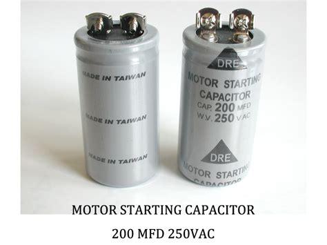200 mfd capacitor 200 mfd 250 vac allen creations corp