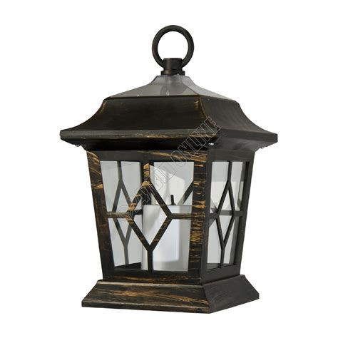 Coach Lights Outdoor Outdoor Solar Flickering Led Candle Lanterns Coach Lights Garden Ls Ebay
