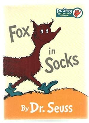 fox in socks by dr seuss first edition abebooks