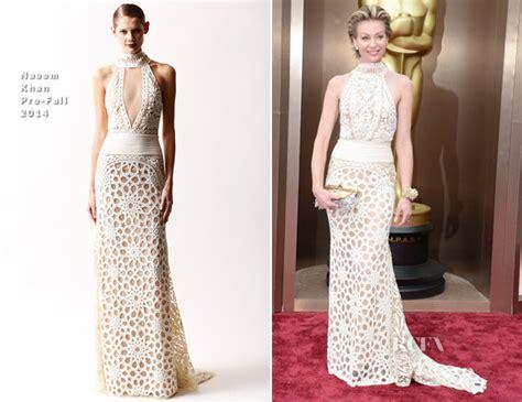 Carpet Underlay Shop by Portia De Rossi In Naeem Khan Oscars 2014 Red Carpet