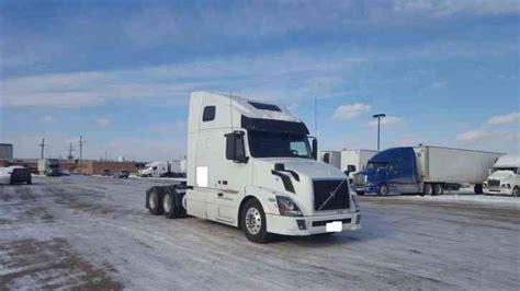 2011 volvo semi tractor volvo vnl 2011 sleeper semi trucks