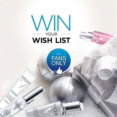 How To Win On Wish Daily Giveaway - vichy win your wish list giveaway