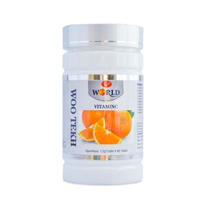 Obat Herbal Hg obat herbal woo tekh vitamin c