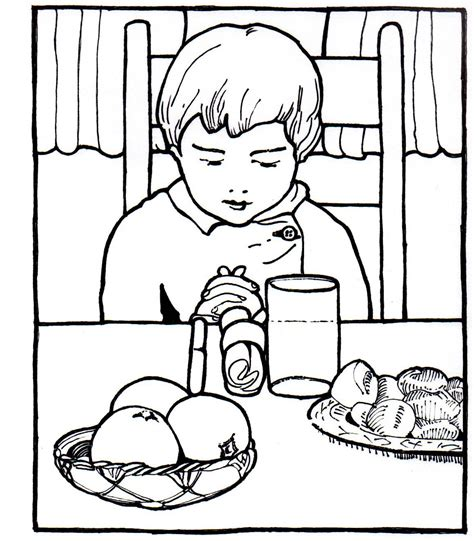 coloring pages of a family eating family eating dinner coloring page coloring pages for free