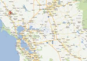 map of fresno california and surrounding area santa rosa california map