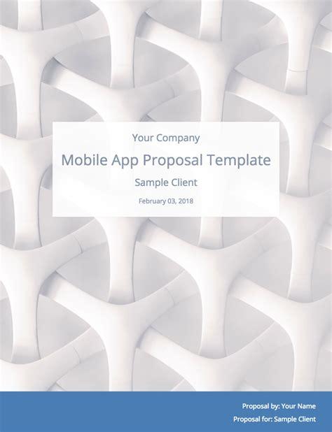 Mobile App Development Template Mobile App Development Template With Sle